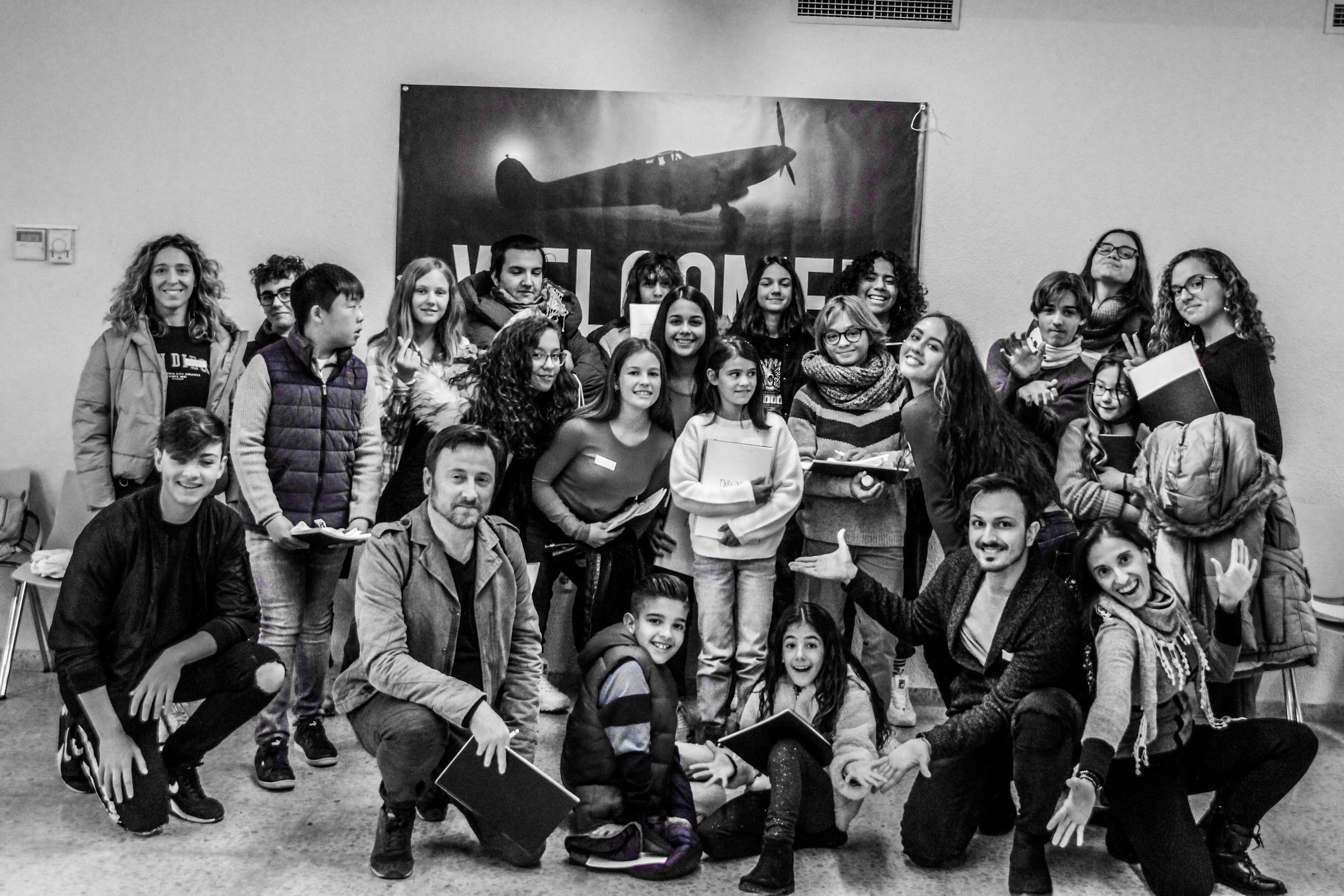 Mesa Italiana, lectura guion, talleres de interpretación Dromo